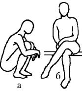 Как правильно сидеть и вставать