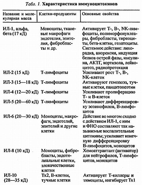 Иммунологический гомеостаз и типы аллергических реакций