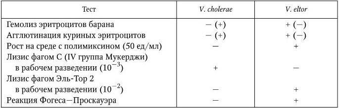 Микробиология холеры