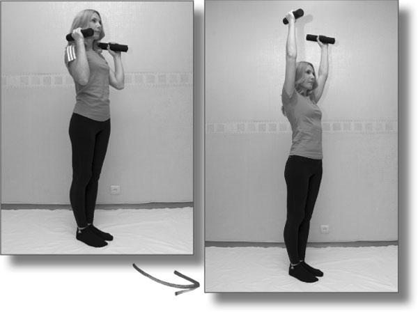 Следующая часть комплекса – силовые упражнения для мышц спины, бёдер и брюшного пресса. Все эти упражнения, кроме упражнения №4, надо делать очень медленно и плавно.