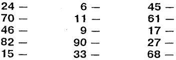 Для чего может пригодиться словесно-числовой список